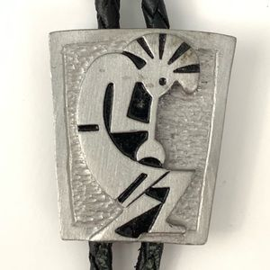 Other - Vintage bolo tie - Native American Kokopelli